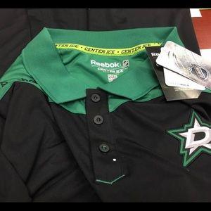 Brand new Dallas Stars polo. Size 3xl